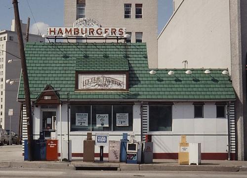 Little Tavern hamburger stand